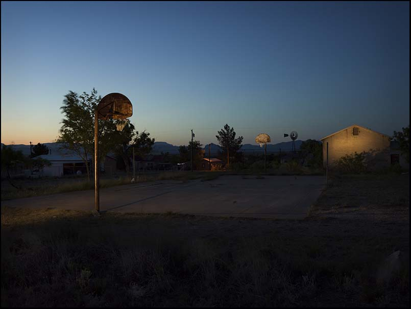 © James-H-Evans-Basketball Court, Marathon
