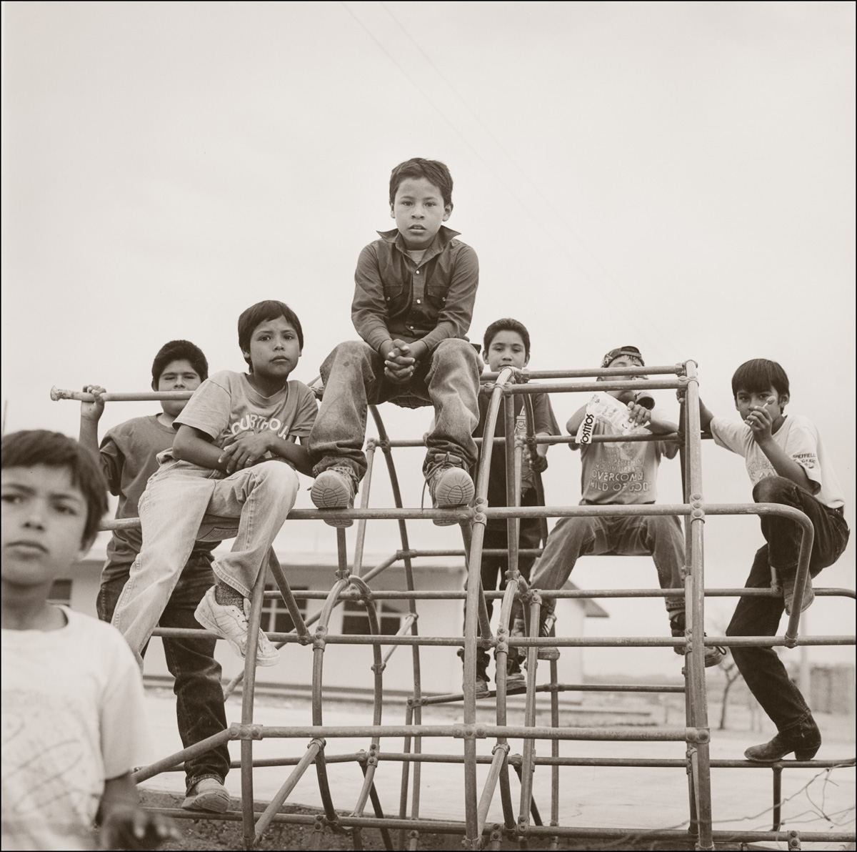 © James-H-Evans-Boys in Boquillas
