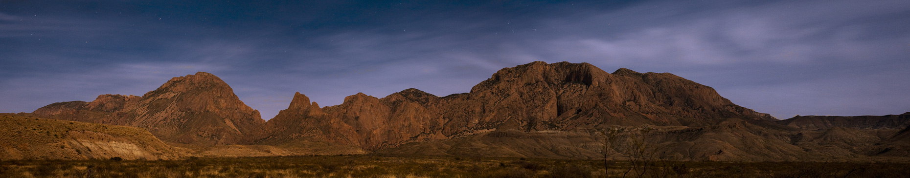 Chisos At Night