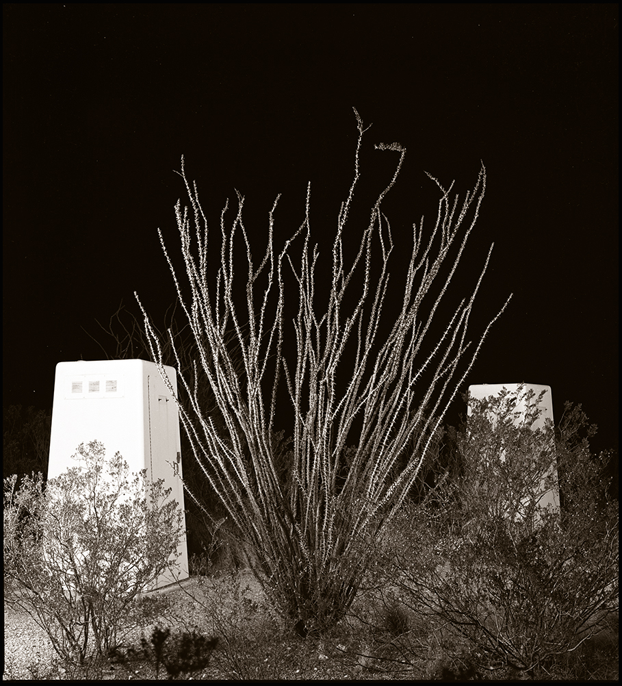 © James-H-Evans-Ocotillo and Outhouses